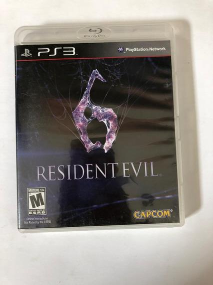 Resident Evil 6 Ps3 Midia Fisica Usado