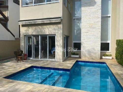 Casa Com 4 Dormitórios À Venda, 384 M² Por R$ 2.500.000,00 - Alphaville 10 - Santana De Parnaíba/sp - Ca3515