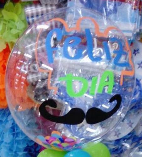 Globos Burbuja Para Personalizar Transparente 30 Pulgadas