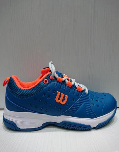 Zapatillas Tenis Wilson Set Mujer Blue/coral (l1w1a)
