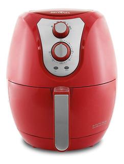 Fritadeira sem óleo Britânia Air Fry 3.2 L Pro Saúde vermelha 110V
