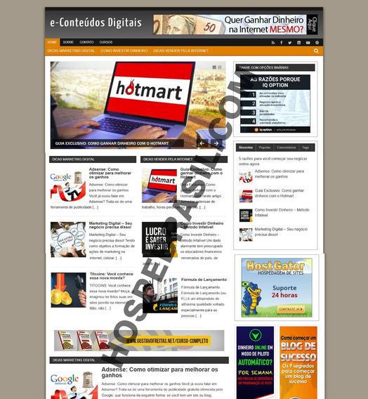 Site Completo Nicho Marketing Digital (valor Sob Orçamento)