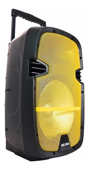 Bafles Amplificados 10 Pulgadas Bluetooth Velikka Vkk-110l