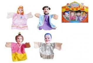Titeres Muñecos Por 4 Unidades