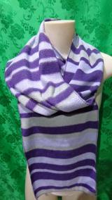Cachecol Feminino De Lã Peluciado Soft