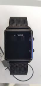 Relógio Lince Digital Unissex Preto - Mdn4596l