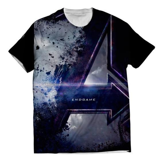Camisa Avengers Camiseta Ultimato Vingadores Endgame