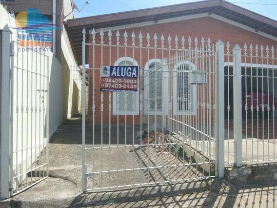 Casa Com 2 Dormitórios Para Alugar, 80 M² Por R$ 1.100/mês - Jardim Campos Elíseos - Campinas/sp - Ca0142