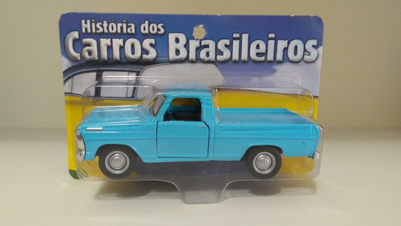 Coleção Carros Brasileiros - Ford F-100 - Escala 1/38
