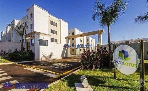 Apartamento À Venda, 46 M² Por R$ 170.000,00 - Jardim Nações Unidas - Londrina/pr - Ap0570