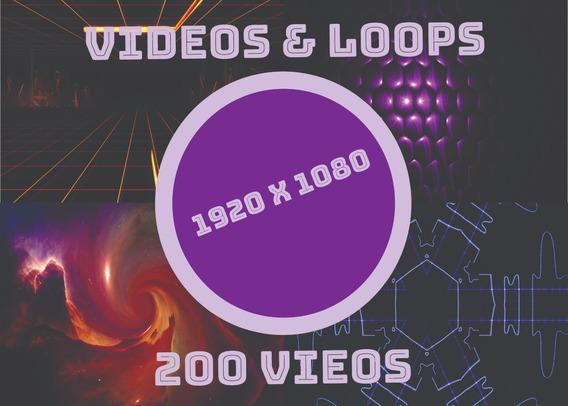 Vj 200 Loops Videos 1920 X 1080 4k Ultra Hd