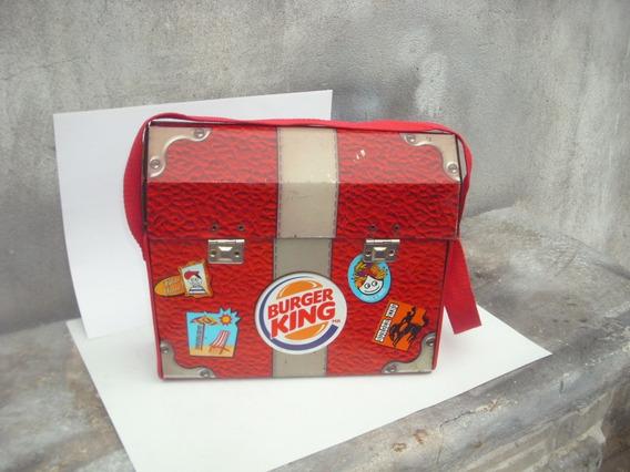 Antiguo Juguete Lata Litografiada Rara Lunchera Burger King