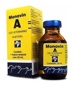Monovin A 20ml Original Vitamina A Crescer Cabelo Promoção