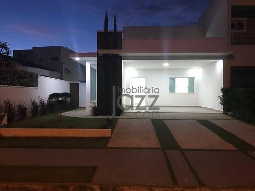 Casa Com 3 Dormitórios À Venda, 212 M² Por R$ 1.050.000,00 - Loteamento Green View Village - Indaiatuba/sp - Ca4877