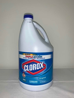Blanqueador Clorox Regular X 3.800 Ml - L a $1