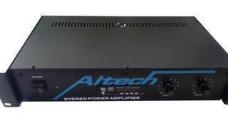 Amplificador Potencia Dj Bluetooth Usb Altech Xp1000.bt 300w