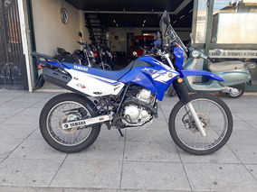 Yamaha Xtz 250 2015 Azul Impecable