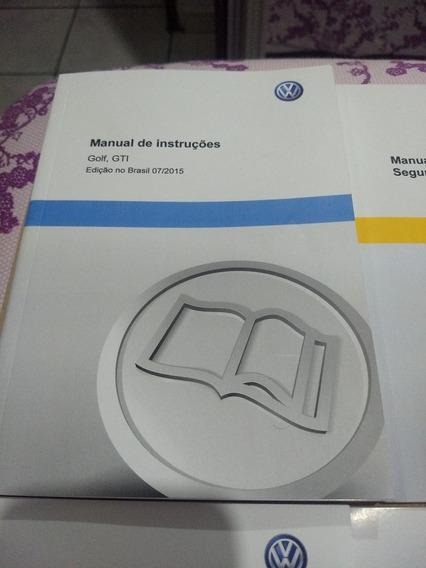 Manual Proprietario Volkswagen Golf 2015 A 2018