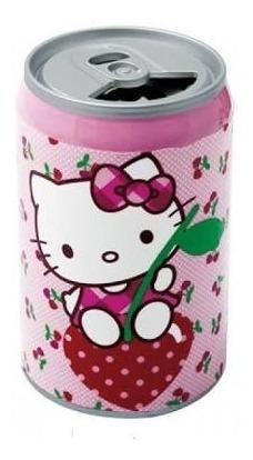 Caixa De Som Estéreo Em Forma De Latinha - Hello Kitty Hk14s