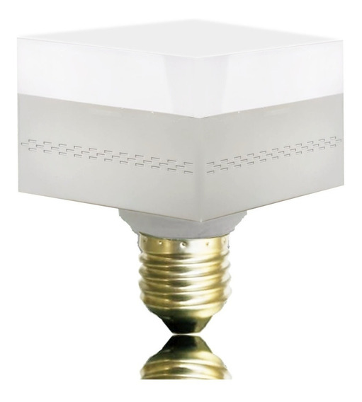 Lâmpada Led Quadrada E27 Decorativa 40w Branco Frio