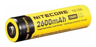 Pila Para Cargador 18650 Nitecore Nl1826 Li-ion 3.7v 2600mah