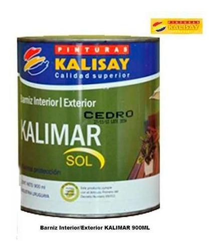 Imagen 1 de 4 de Barnis Int/ext Kalimar De Kalisay C/filtro Solar 900ml H Y T