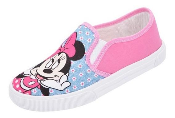 Tênis Personagem Infantil Iate Minnie Menina Disney Promoção