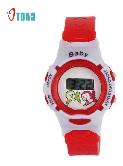 Relógio Bayb De Pulso Infantil Digital Colorido