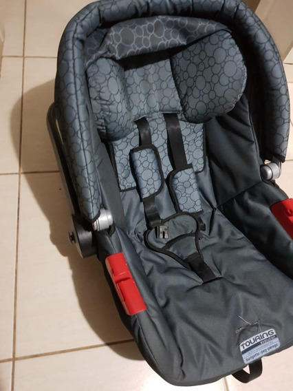 Bebê Conforto Touring Evolution Burigotto Preto/cinza