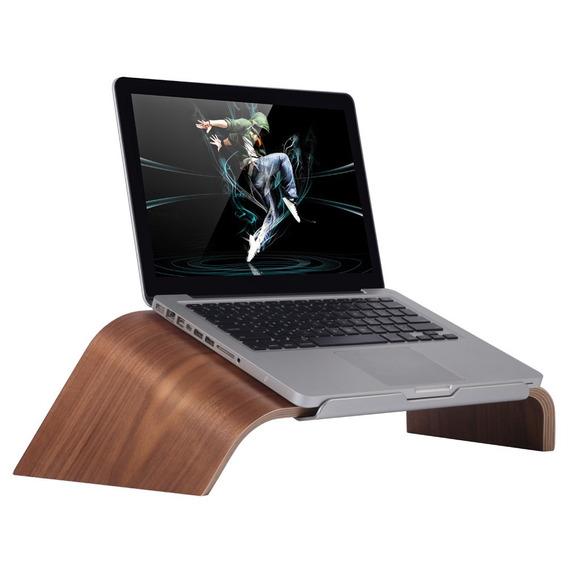 Madera De Madera Para Laptop Samdi Universal Laptop Desoport