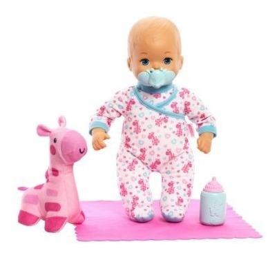 Boneca Little Mommy Bebe Doces Sonhos - Girafa C/ Luz Mattel