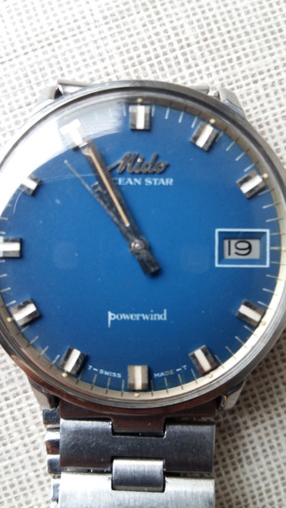 Relógio Mido Ocean Star Powerwind Automático - Vintage