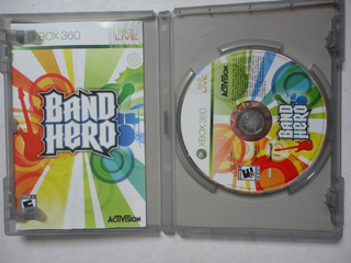 Band Hero Software Xbox360 Usado