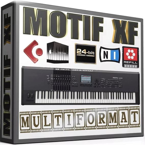 Samples Pianos Acústicos Motif Xf8 Para Kontakt