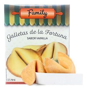 Galletas De La Fortuna Sabor Vainilla X 12u - De La Suerte