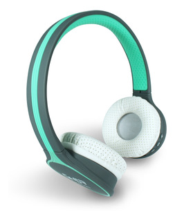 Audifonos Diadema Bluetooth Ghia N1 Hifi Sound Azul/gris 10m