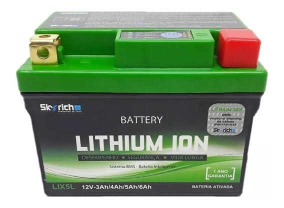 Bateria Litio Titan 150 160 Xre 190 300 Nxr 150 Lix5l 3a6 Ah