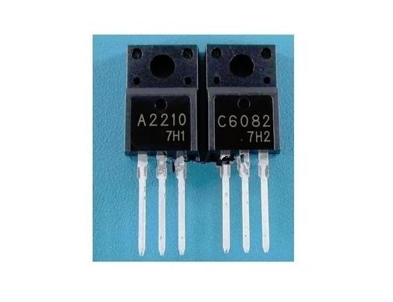 Transistor A2210 C6082 = 2sa2210 2sc6082 Original - Par