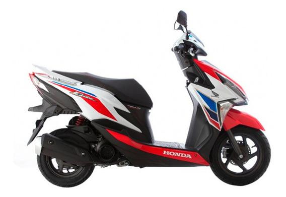 Honda New Elite Tricolor 2020 0km Inyección Crédito Dni 100%