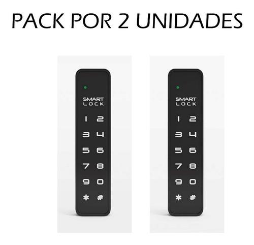 Cerradura  Muebles Cajones Tekno Mini F023v Packx2 Huella *c
