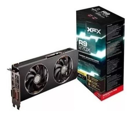 Placa Video Xfx Radeon R9 270x 2gb Ddr5 256bits 100mhz