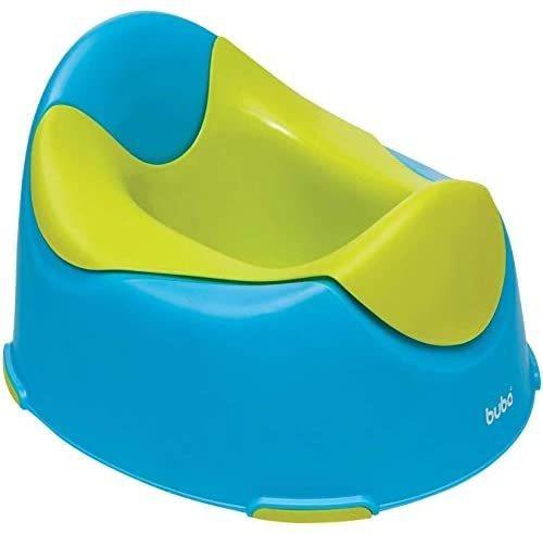 Troninho Penico Infantil Anatômico Buba Azul E Verde 8969