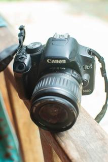 Canon 500d + Lente 18-55 Efs