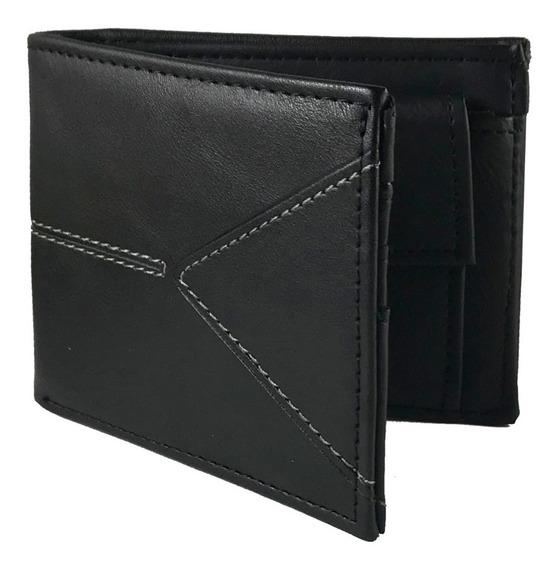 Billetera Hombre Tarjetero Pocket Cuero Ecologico A322