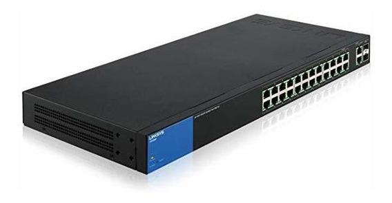 Switch Linksys Lgs326mp Business Poe+ Smart 24 Port Gigabi ®