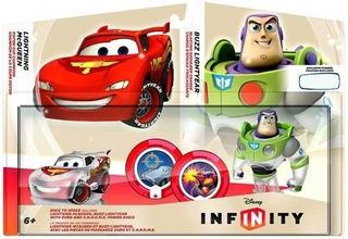 Figuras Rayo Mcqueen Y Buzz Lightyear Para Disney Infinity
