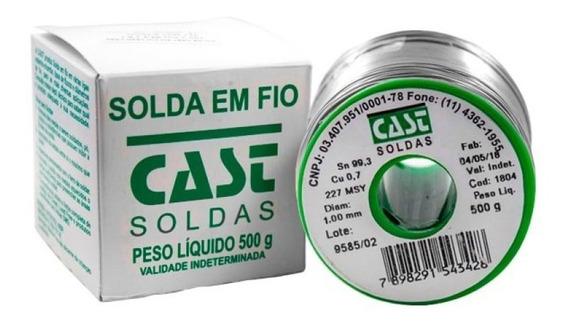 Rolo De Solda Estanho Lead Free 500g 1mm - Cast