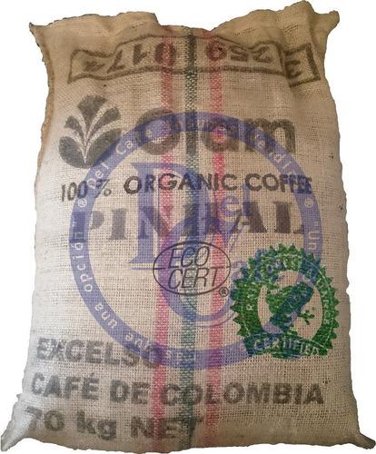 Cafe Organico Colombia Excelso Premium Biocafe Grano Molido