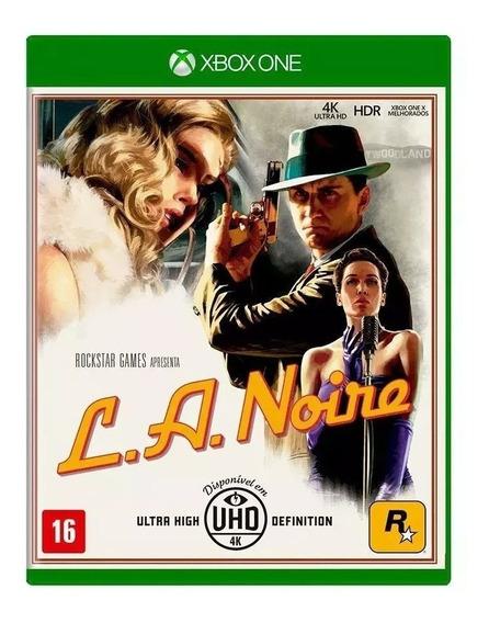 L.a. Noire Xbox One - Mídia Física (lacrado)