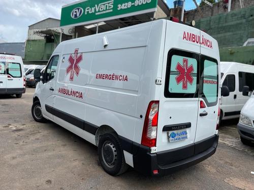 Ambulancia Master L2h2 Muito Nova!!! 2016